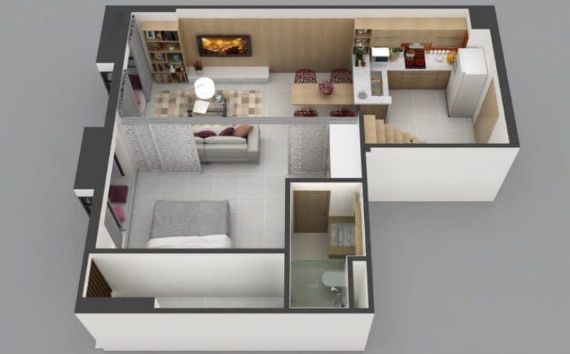 gác lửng cho chung cư 4 1024x636 - Gác lửng cho căn hộ chung cư - tại sao lại không nhỉ